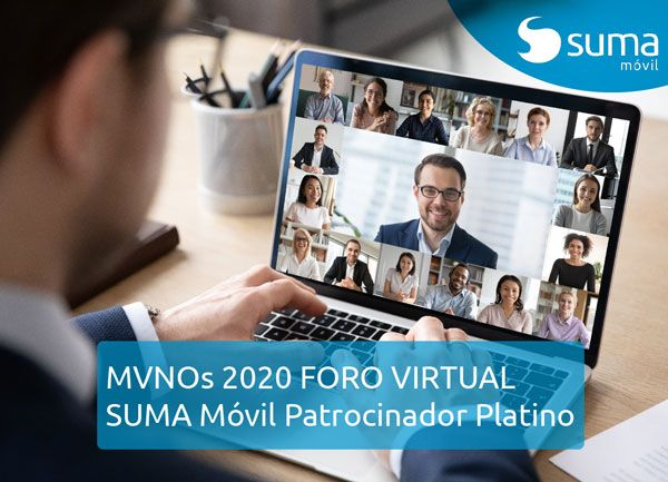 SUMA móvil - Noticia: Patrocinador Plata MVNOs 2020