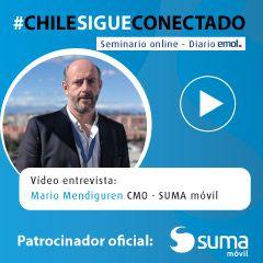 SUMA móvil patrocinador oficial del seminario online #ChileSigueConectado organizado por el diario El Mercurio