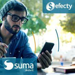 SUMA móvil incorpora la red de Efecty a su actual red de recargas superando los 70.000 puntos de recarga en Colombia