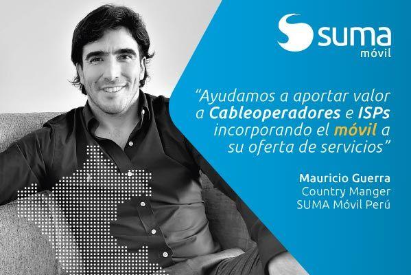 SUMA móvil - Noticia: Canal TV+ entrevista a Mauricio Guerra