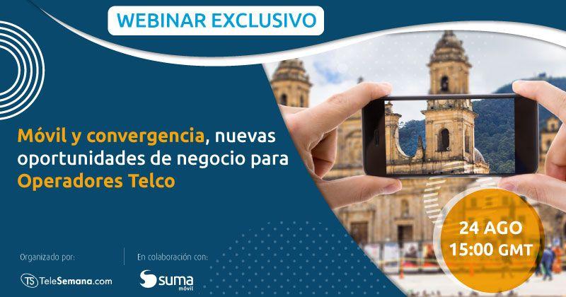 """SUMA móvil - Noticia: Webinar """"Móvil y convergencia, nuevas oportunidades de negocio para Operadores Telco"""""""