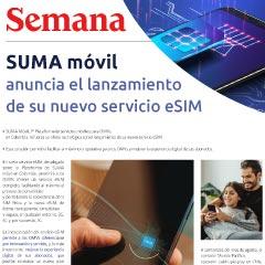 SUMA móvil - Noticia: Lanzamiento eSIM en Colombia