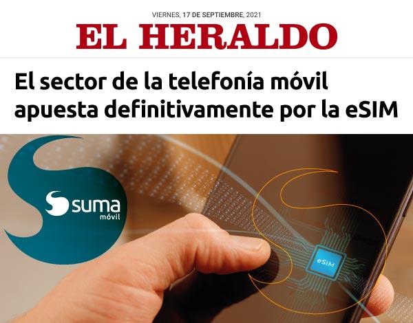 SUMA móvil - Noticia: El sector de la telefonía móvil apuesta definitivamente por la eSIM